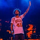 J. Cole lit up Grant Park in 2016.