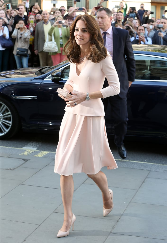 Kate Middleton's Pink Alexander McQueen Dress May 2016 ...