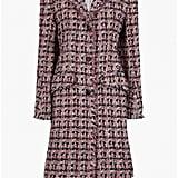 Sonia Rykiel Fitted Tweed Coat