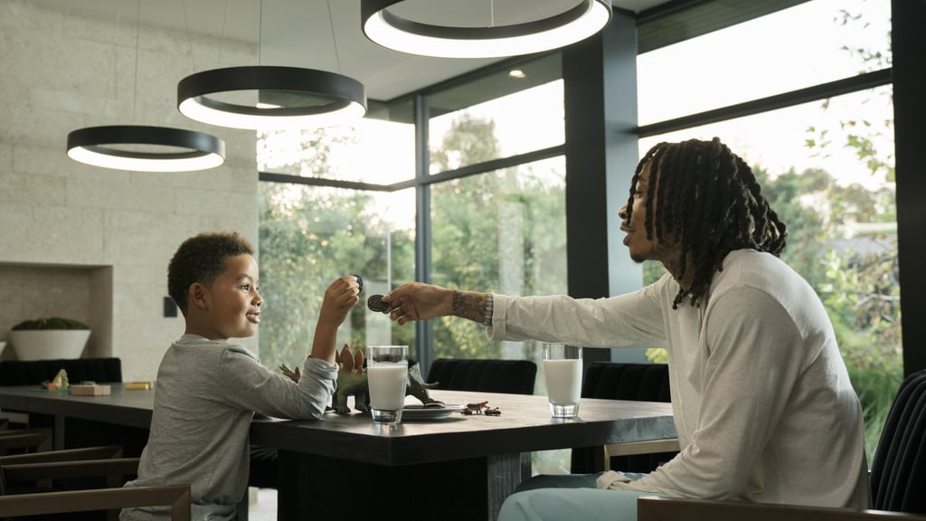 Oreo Song With Wiz Khalifa and His Son, Sebastian