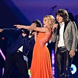 The Band Perry at the CMT Awards.