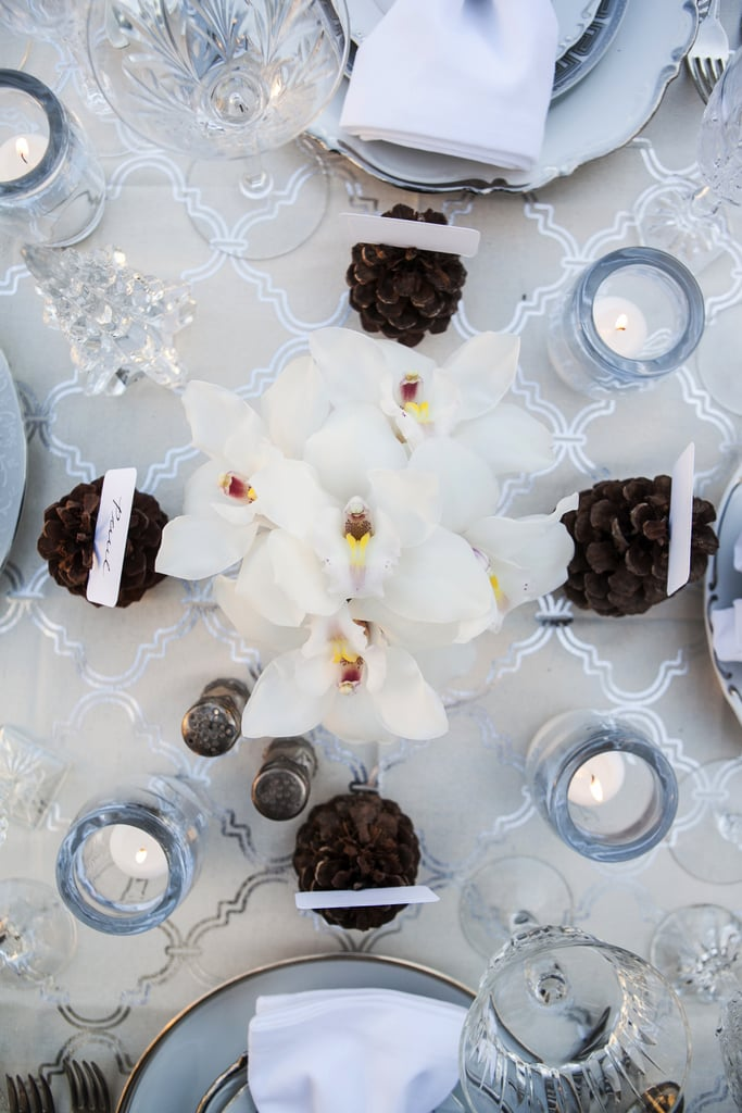 Use a Frosty Table Setting