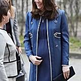 Blue Military Coat