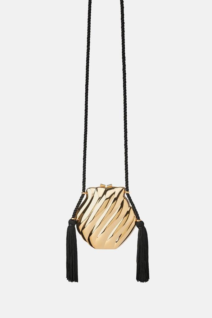 bb8947cb Zara Shell Shaped Crossbody Bag   Bag Trends Spring 2019   POPSUGAR ...