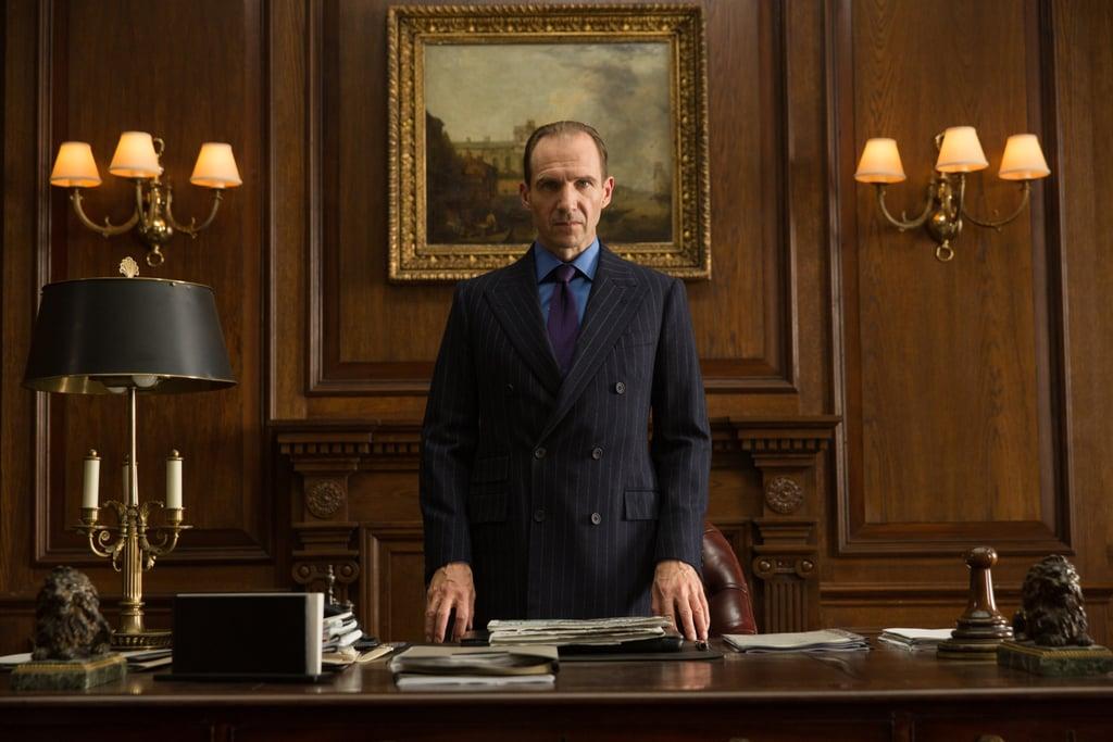 Ralph Fiennes as M.