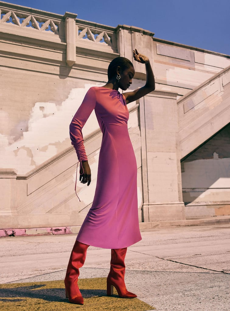Have a Major Fashion Moment in This Fuchsia Dress