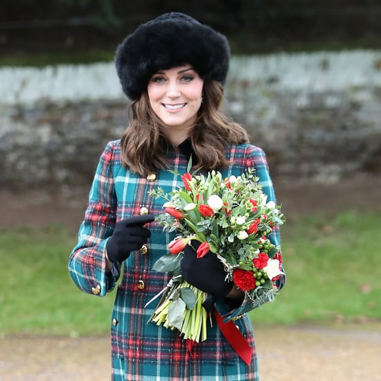 Kate Middleton's Miu Miu Plaid Coat Christmas Service 2017