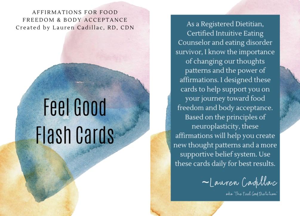 Feel Good Flash Cards