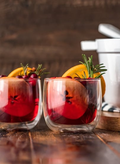 Hot Cranberry Apple Cider