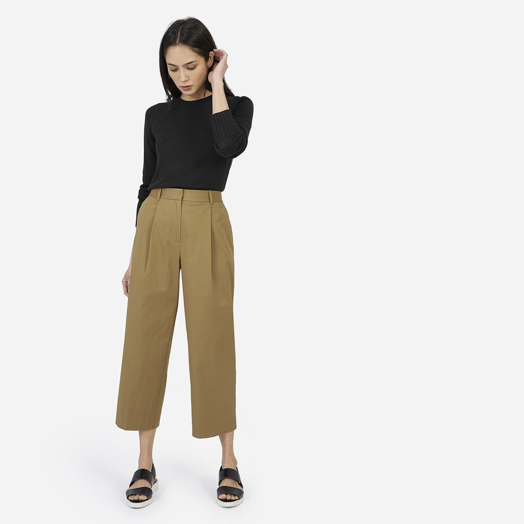 Everlane The Twill Crop Pant ($78)