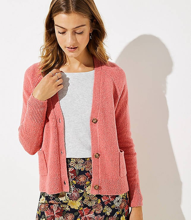 6468bffa2ed Loft V-Neck Pocket Cardigan | Comfortable Sweaters For Women ...