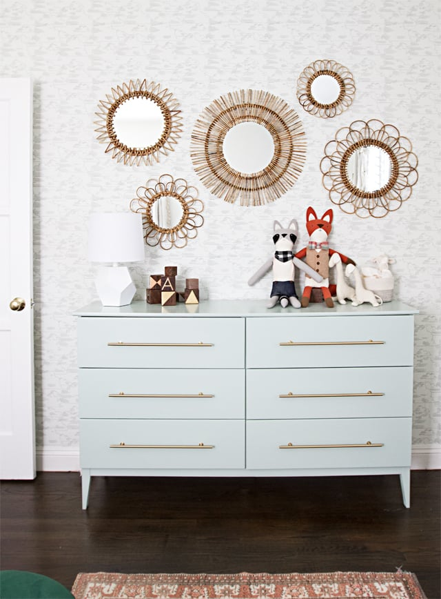 Three surprisingly straight-forward changes transformed a rustic Tarva dresser into a stunning piece of furniture we would expect to pay four digits for.
