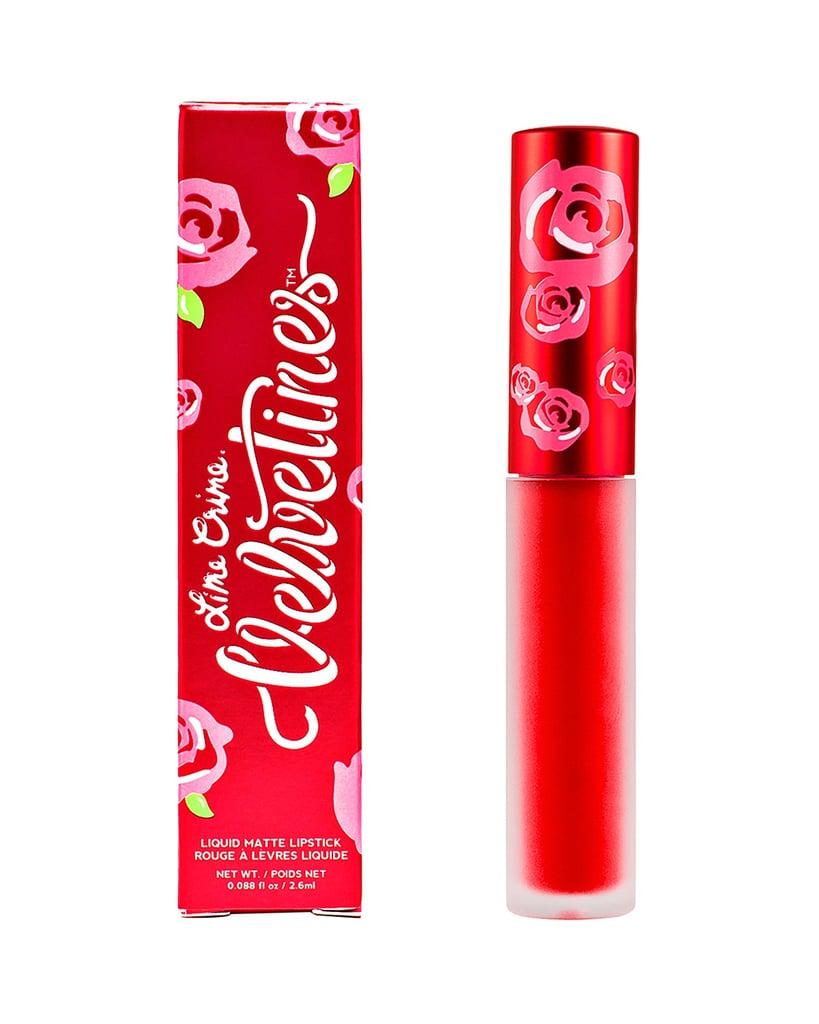 Lime Crime Velvetines Liquid Matte Lipstick in Red Velvet