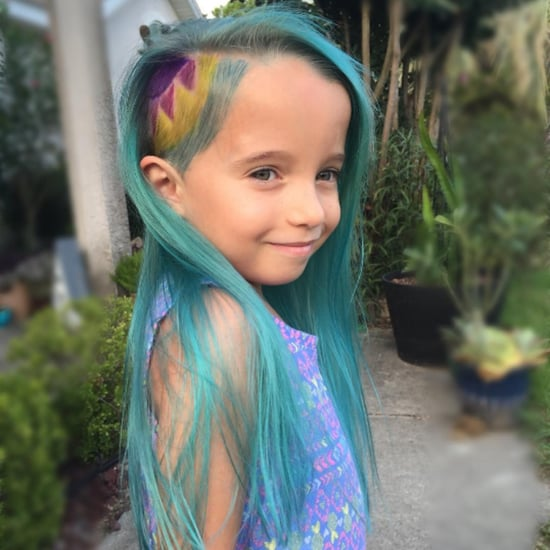 Mom Receives Backlash For Dyeing Her Daughter's Hair