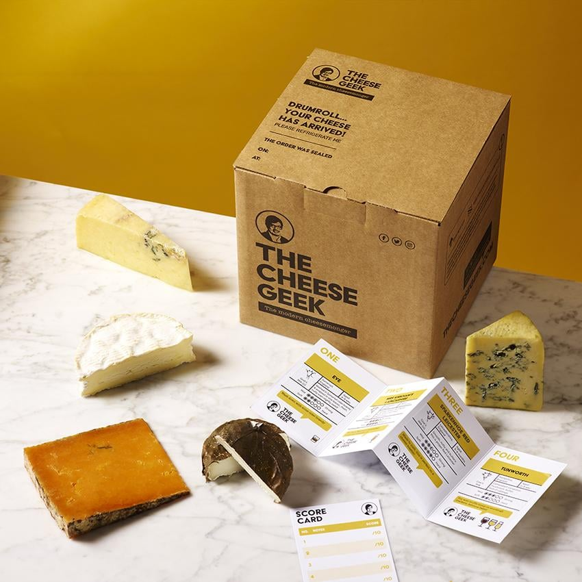 The Cheese Geek The Elvis Cheese Subscription Box
