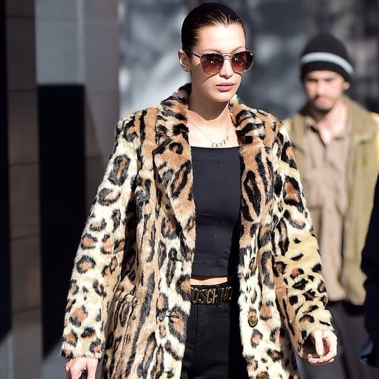 Bella Hadid Coats