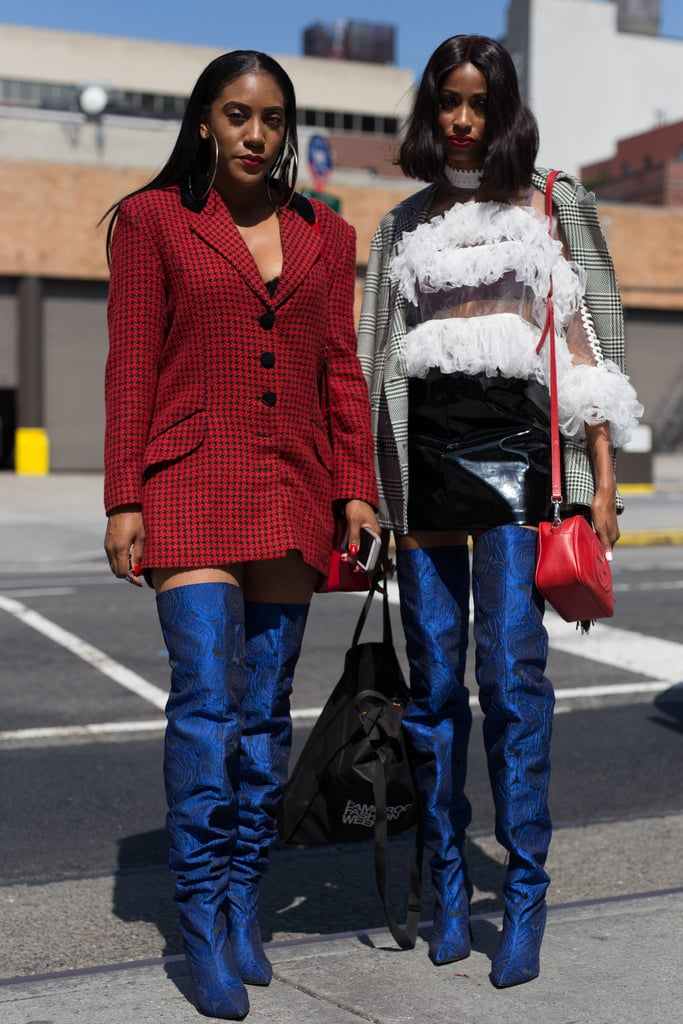 Shop With a Friend For Extravagant Shoes —Then Wear Them at the Same Time
