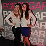 Ellie Goulding posed with PopSugar's Molly Goodson.