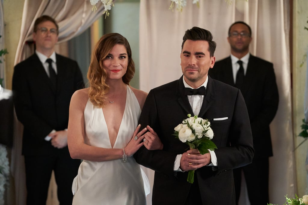Schitt's Creek: Every Outfit at David and Patrick's Wedding