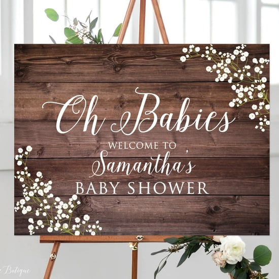 Twin Baby Shower Ideas