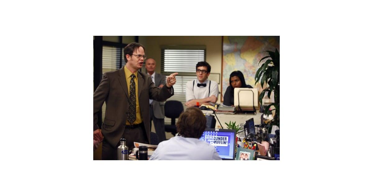 The office recap of the season finale whistle blower popsugar entertainment - The office season 9 finale ...