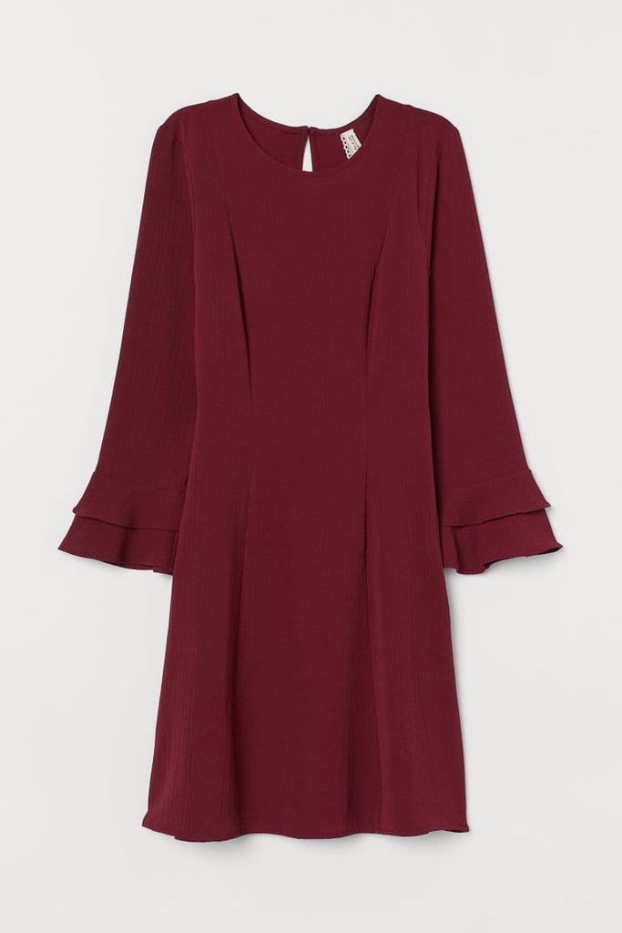 H&M Flounce-Sleeved Dress