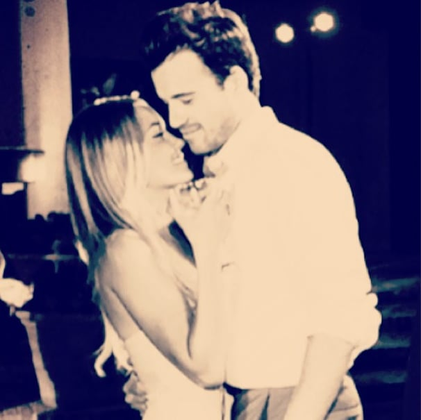 Lauren Conrad wished her valentine, boyfriend William Tell, a happy Valentine's Day on Instagram.  Source: Instagram user laurenconrad