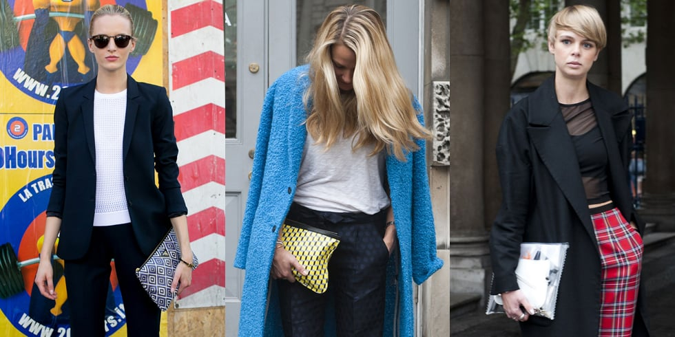 Street Style Bag Trends: Zippered Clutches To Shop Online
