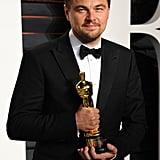 He Finally Won an Oscar . . .