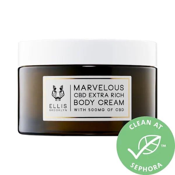 Ellis Brooklyn Marvelous CBD Extra Rich Body Lotion Cream