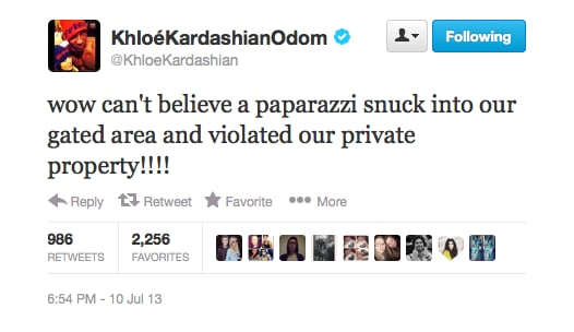 Khloe Kardashian is not happy with the paparazzi this week, and rightly so!