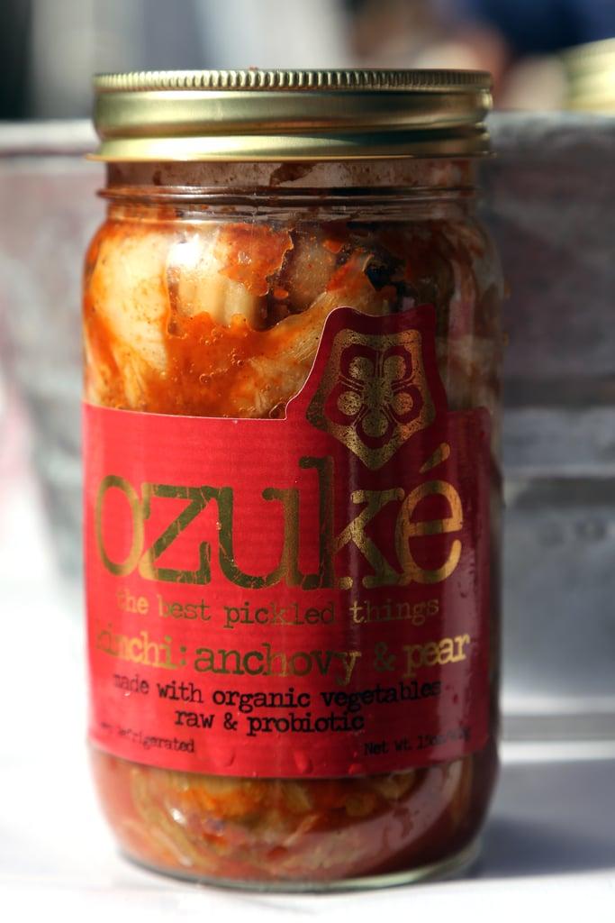 Ozuké Anchovy and Pear Kimchi