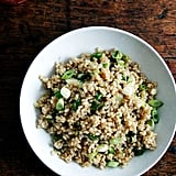 Brown Rice and Scallions