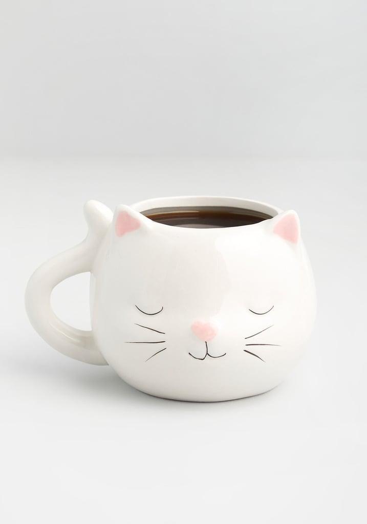 Cat-ffeine Time Ceramic Mug