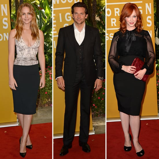 Jennifer Lawrence, Bradley Cooper and Christina Hendricks Do Lunch