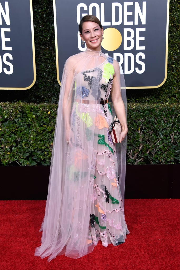 Lucy Liu at the 2019 Golden Globes