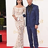 Matthew McConaughey Kicks Off His Big Emmys Night With Camila by His Side