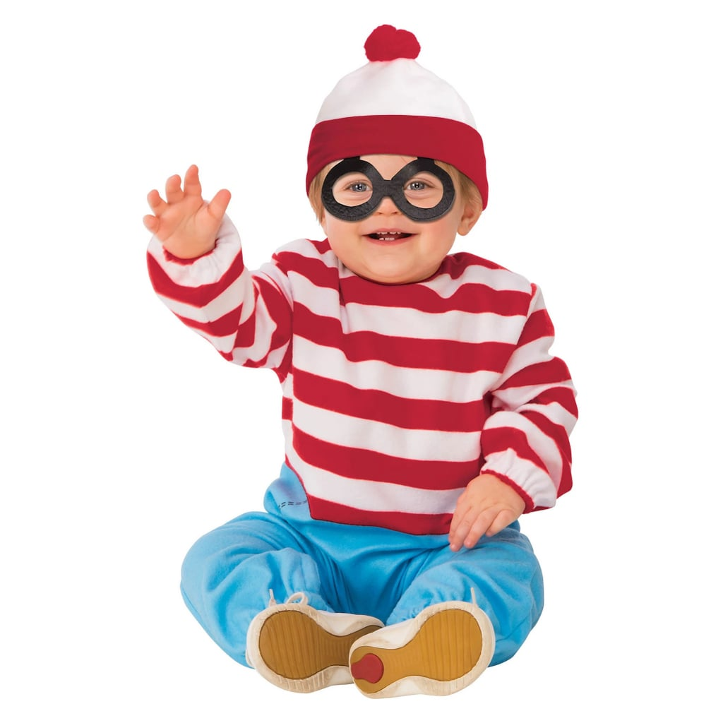 Toddler Where's Waldo? Halloween Costume