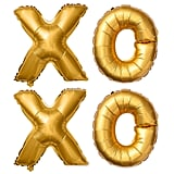 Non-Floating XOXO Letter Balloons