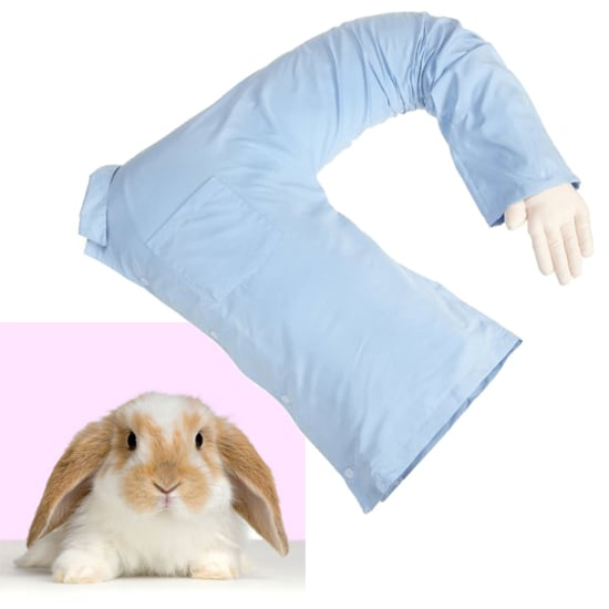 "@heyitslori Deluxe Comfort Boyfriend Body Pillow ($40) ""Because you can't cuddle a cheesecake. Trust me, I've tried."""