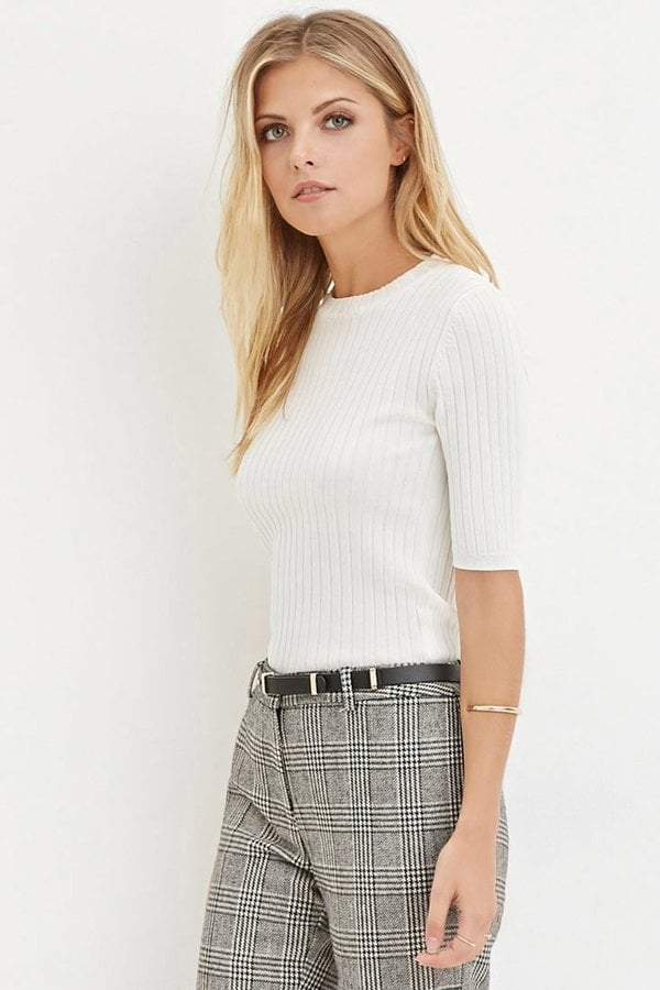 A Short-Sleeved Sweater That Feels Like a Tee but Looks a Lot More Professional