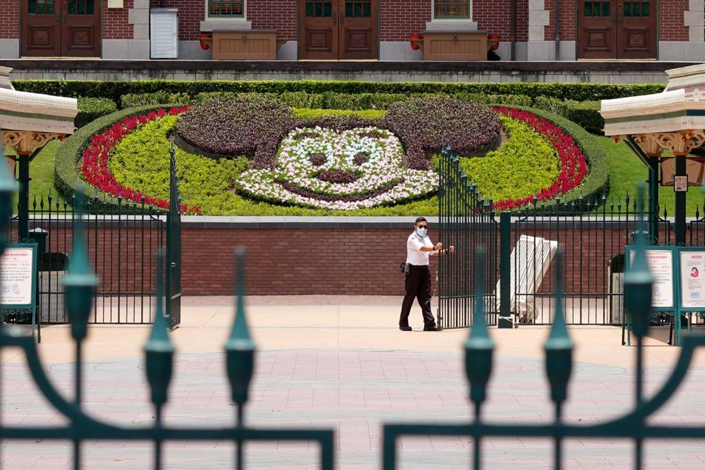 Photos of Hong Kong Disneyland as It Reopens Amid the Coronavirus Pandemic