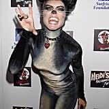 Heidi Klum got catty for her 2007 costume party in LA.