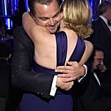 Leonardo DiCaprio and Kate Winslet had the sweetest Titanic reunion.