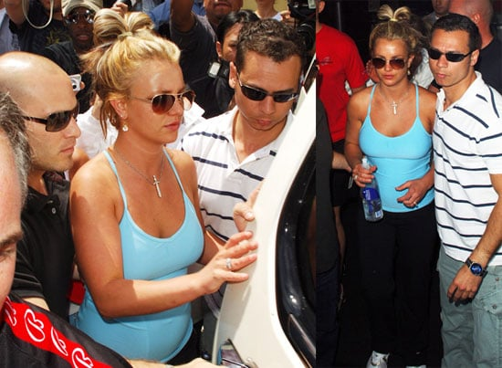 Britney's Back to Bally's