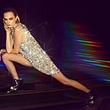 Cara Delevingne The Beat Goes On Sequin Dress