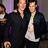 With Benedict Cumberbatch