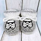 Stormtroopers Knitted Booties