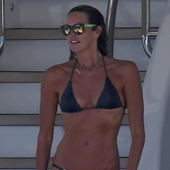 Elle Macpherson in a Bikini at 50