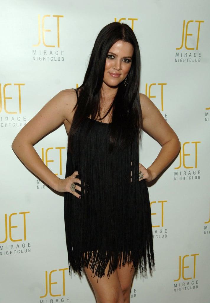 Khloé Kardashian in 2007